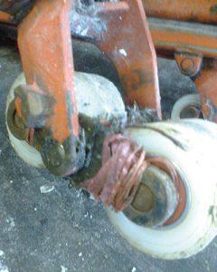 probleem handpallettruck